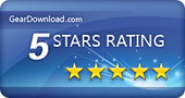 Five stars on Geardownload